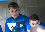 St Johnstone v Partick Thistle…27.01.18…  McDiarmid Park…  SPFL<br />Jason Kerr on the subs bench<br />Picture by Graeme Hart. <br />Copyright Perthshire Picture Agency<br />Tel: 01738 623350  Mobile: 07990 594431