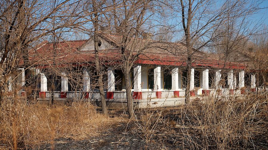 Former Barracks At Shanhaiguan (Shanhaikwan), Next To The Great Wall.