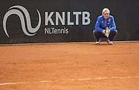 Februari 04, 2015, Apeldoorn, Omnisport, Fed Cup, Netherlands-Slovakia, Training Dutch team, coach Martin Bohm<br /> Photo: Tennisimages/Henk Koster