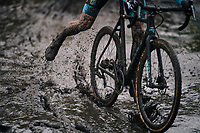 Super splashy race conditions at the Superprestige cyclocross in Hoogstraten (BEL) / 2019<br /> <br /> Elite Men's Race<br /> <br /> ©kramon