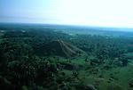 La Venta; aerial; Olmec; Mexico