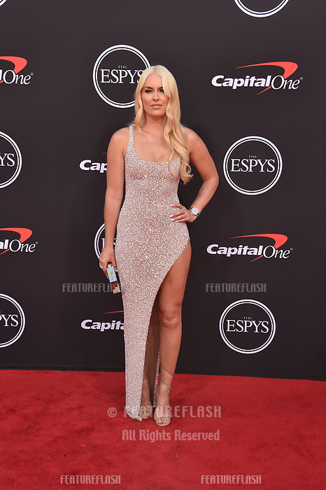 LOS ANGELES, USA. July 10, 2019: Lindsey Vonn at the 2019 ESPY Awards at the Microsoft Theatre LA Live.<br /> Picture: Paul Smith/Featureflash