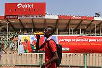 BURKINA FASO, capital Ouagadougou, reception of the national football team of Burkina Faso as 2nd winner of the Africa Cup 2013 in Stadium in Ougadougou