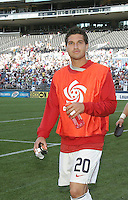Santino Quaranta walks onto the field. USA defeated Grenada 4-0 during the First Round of the 2009 CONCACAF Gold Cup at Qwest Field in Seattle, Washington on July 4, 2009.