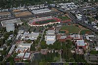 aerial photograph Sacramento City College, Sacramento, California