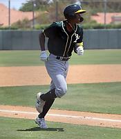 Pedro Pineda - Oakland Athletics 2021 extended spring training (Bill Mitchell)