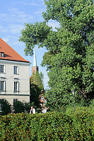 Auf der Sandinsel in Wroclaw (Breslau), Woiwodschaft Niederschlesien (Województwo dolnośląskie), Polen, Europa<br /> Sand Island  in Wroclaw, Poland, Europe