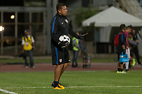 Couva, Trinidad & Tobago - Tuesday Oct. 10, 2017:  Nick Rimando during a 2018 FIFA World Cup Qualifier between the men's national teams of the United States (USA) and Trinidad & Tobago (TRI) at Ato Boldon Stadium.