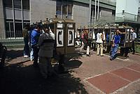 Costa Rica - file Photo -San Jose, public phone booths