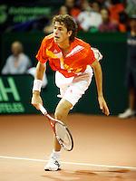 23-9-07, Netherlands, Rotterdam, Daviscup NL-Portugal, Robin Haase