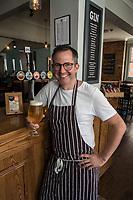 Mark Anderson of the Ruddington Arms, Ruddington, Nottingham
