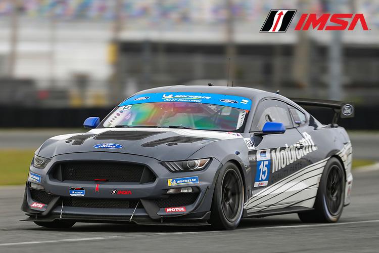 #15 Multimatic Motorsports Inc. Ford Mustang GT4, GS: Austin Cindric, Sebastian Priaulx