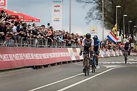 World Champion Peter Sagan (SVK/Bora Hansgrohe) finishing 4th.<br /> <br /> 53th Amstel Gold Race (1.UWT)<br /> 1 Day Race: Maastricht > Berg en Terblijt (263km)