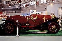 Classic Cars: 1914 Isotta-Fraschini, in profile.