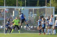 Kansas City, MO - Saturday July 16, 2016: Yael Averbuch during a regular season National Women's Soccer League (NWSL) match at Swope Soccer Village.