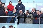 LUCA VERDONE CON LINO BANFI E IL FIGLIO WALTER<br /> ROMA- BOLOGNA STADIO OLIMPICO ROMA 2015