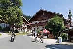 Austria, Tyrol, Wildschoenau: high valley at Kithbuehel Alps, district Oberau, centre