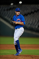 AZL Cubs 2 relief pitcher Jamie Galazin (39) during an Arizona League game against the AZL Reds on July 23, 2019 at Sloan Park in Mesa, Arizona. AZL Cubs 2 defeated the AZL Reds 5-3. (Zachary Lucy/Four Seam Images)