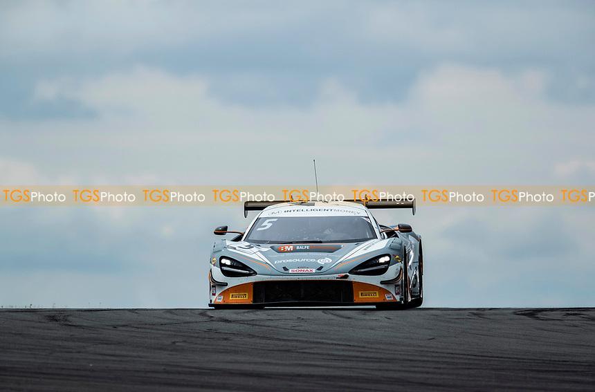 Stewart Proctor & Lewis Proctor, McLaren 720S GT3, Balfe Motorsport into Goddards during the British GT & F3 Championship on 11th July 2021