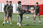 Atletico de Madrid's Sime Vrsalijko during training session. February 26,2021.(ALTERPHOTOS/Atletico de Madrid/Pool)