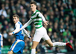 Celtic v St Johnstone…18.02.18…   Celtic Park    SPFL<br />David Wotherspoon watches his header go over the bar<br />Picture by Graeme Hart. <br />Copyright Perthshire Picture Agency<br />Tel: 01738 623350  Mobile: 07990 594431