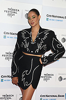 NEW YORK, NEW YORK - JUNE 10: Giselle Bailey at the 2021 Tribeca Festival Premiere of Legend Of The Underground at Brookfield Place on June 10, 2021 in New York City.  Credit: RW/MediaPunch