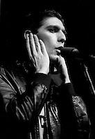 April 6, 1987 File Photo - Montreal, Quebec, CANADA - Rock Envol 1987 contest -  Les Nerfs