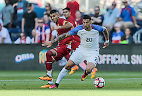 Kansas City, KS. - May 28, 2016: The U.S. Men's national team versus Bolivia in an international friendly tuneup match prior to the opening of the 2016 Copa America Centenario at Children's Mercy Park.