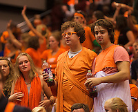 14-sept.-2013,Netherlands, Groningen,  Martini Plaza, Tennis, DavisCup Netherlands-Austria, Doubles,   Dutch supporters<br /> Photo: Henk Koster