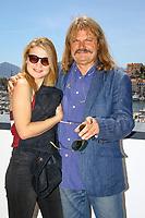Leslie MANDOKI et Lara MANDOKI en photocall lors du MIDEM 2017 à Cannes, Palais des Festivals et des Congres, Cannes, Sud de la France, mercredi 7 juin 2017. Philippe FARJON / VISUAL Press Agency