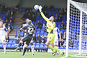 Jason Mooney of Tranmere palms clear<br />  - Tranmere Rovers v Stevenage - Sky Bet League One - Prenton Park, Birkenhead - 7th September 2013. <br /> © Kevin Coleman 2013