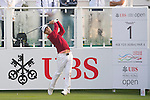 Jazz Janewattananond of Thailand tees off the first hole during the 58th UBS Hong Kong Golf Open as part of the European Tour on 10 December 2016, at the Hong Kong Golf Club, Fanling, Hong Kong, China. Photo by Marcio Rodrigo Machado / Power Sport Images