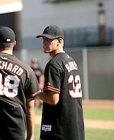 Scott Barnes / San Francisco Giants 2008 Instructional League..Photo by:  Bill Mitchell/Four Seam Images