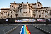 25.01.2020 - Spegniamo La Guerra Accendiamo La Pace – Demonstration For Peace In Rome