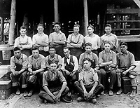 Twenty five Indians from the Carlisle Indian College, Pa., are learning to build ships in the greatest shipyard in the world at Hog Island.  September 4, 1918.  Western Newspaper Union.  (War Dept.)<br /> NARA FILE #:  165-WW-509B-2<br /> WAR & CONFLICT BOOK #:  537