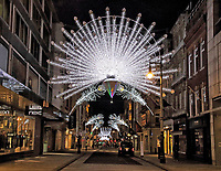 NOV 25 Bond Street Christmas Lights