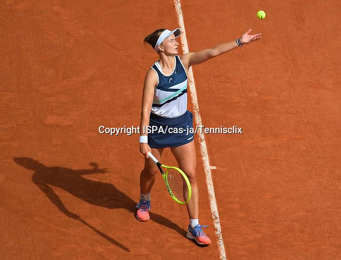 Barbara Krejcikova plays to win it all