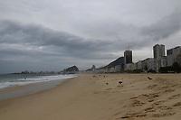 20/08/2020 - MOVIMENTAÇÃO NA PRAIA DO LEME NO RIO DE JANEIRO