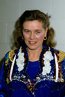 August 25, 1985 File Photo - Edith Butler<br /> <br /> Perform at Lachine celebrations