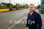 Seamus Kelly of Kelly's Londis standing outside his shop in Milltown