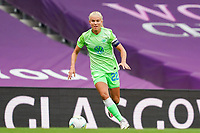 21st August 2020, San Sebastian, Spain;  Pernille Harder  22 Wolfsburg in action during the UEFA Womens Champions League football match Quarter Final between Glasgow City and VfL Wolfsburg.