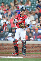 Wyatt Cross (25) of Legacy High School in Broomfield, Colorado during the Under Armour All-American Game on August 16, 2014 at Wrigley Field in Chicago, Illinois.  (Mike Janes/Four Seam Images)