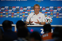 USMNT Press Conference and Training, Manaus, Saturday, June 21, 2014