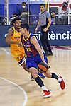League ACB-ENDESA 2020/2021 - Game: 13.<br /> FC Barcelona Lassa vs Herbalife Gran Canaria: 91-63.<br /> Andrew Albicy vs Kyle Kuric.