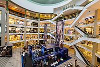Pavilion Mall Interior View, Bukit Bintang, Kuala Lumpur, Malaysia.