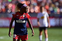Houston, TX - Sunday Oct. 09, 2016: Crystal Dunn during a National Women's Soccer League (NWSL) Championship match between the Washington Spirit and the Western New York Flash at BBVA Compass Stadium.