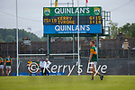 Scoreboard after the Allianz Football League Division 1 Semi-Final, between Tyrone and Kerry at Fitzgerald Stadium, Killarney, on Saturday.