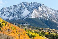 Snowdon Peak, near Silverton, Colorado