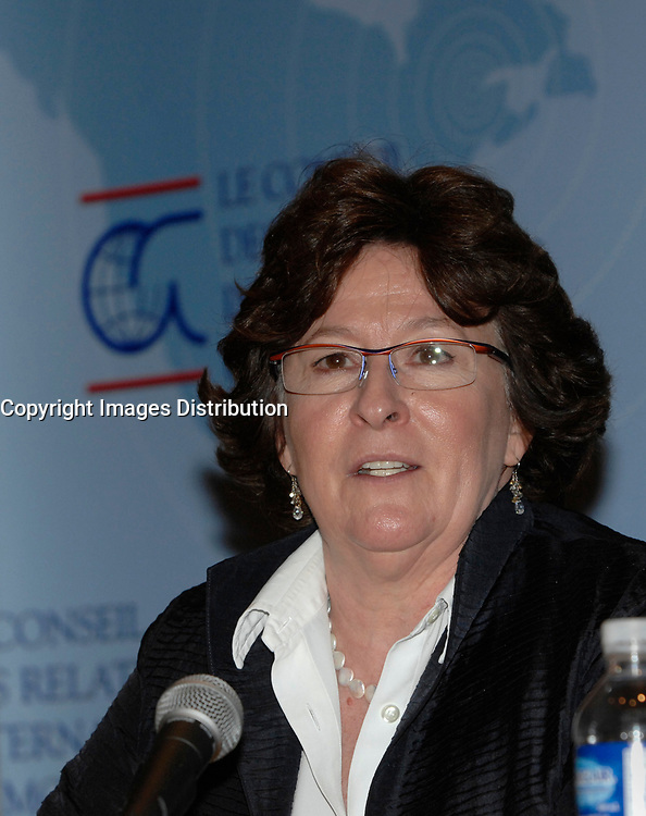 Louise Arbour in Montreal, February 9, 2007<br /> <br /> Louise Arbour was appointed High Commissioner for Human Rights by the Secretary-General and approved by the General Assembly, effective 1 July 2004.<br /> <br /> Ms. Arbour, a Canadian national, began a distinguished academic career in 1970, culminating in the positions of Associate Professor and Associate Dean at the Osgood Hall Law School of York University in Toronto, Canada, in 1987. In December of 1987, she was appointed to the Supreme Court of Ontario (High Court of Justice) and in 1990 she was appointed to the Court of Appeal for Ontario. In 1995, Ms. Arbour was appointed by Order-in-Council as single Commissioner to conduct an inquiry into certain events at the Prisons for Women in Kingston, Ontario.<br /> <br /> In 1996, she was appointed by the Security Council of the United Nations as Chief Prosecutor for the International Criminal Tribunals for the former Yugoslavia and for Rwanda. After three years as Prosecutor, she resigned to take up an appointment to the Supreme Court of Canada.<br /> <br /> Ms. Arbour graduated from College Regina Assumpta, Montreal in 1967 and completed an LL.L (with distinction) from the Faculty of Law, University of Montreal in 1970. Following the Quebec Bar Admission Course, she was called to the Quebec Bar in 1971 and the Ontario Bar in 1977. Ms. Arbour has received honorary doctorates from twenty-seven Universities and numerous medals and awards. She is a member of many distinguished professional societies and organizations and has served on the boards of many others. She has published extensively on criminal law and given innumerable addresses on both national and international criminal law.<br /> <br /> Ms. Arbour was born on 10 February 1947 in Montreal, Quebec and has three children. She is fluent in French and English.<br /> <br /> Photo : (c) 2007 by Michel Karpoff - Images Distribution