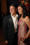 """Nick Espinosa and Gloria Luna at the Children's Museum """"Road to Rio"""" Gala at The Corinthian Friday Oct. 19,2007.  (Dave Rossman/For the Chronicle)"""